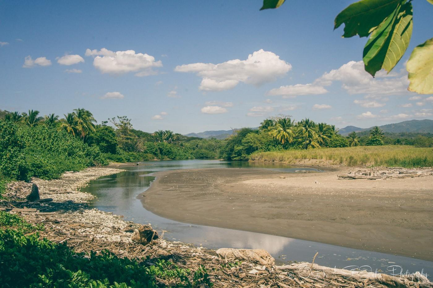 Estuary at Playa Buena Vista, Samara Costa Rica