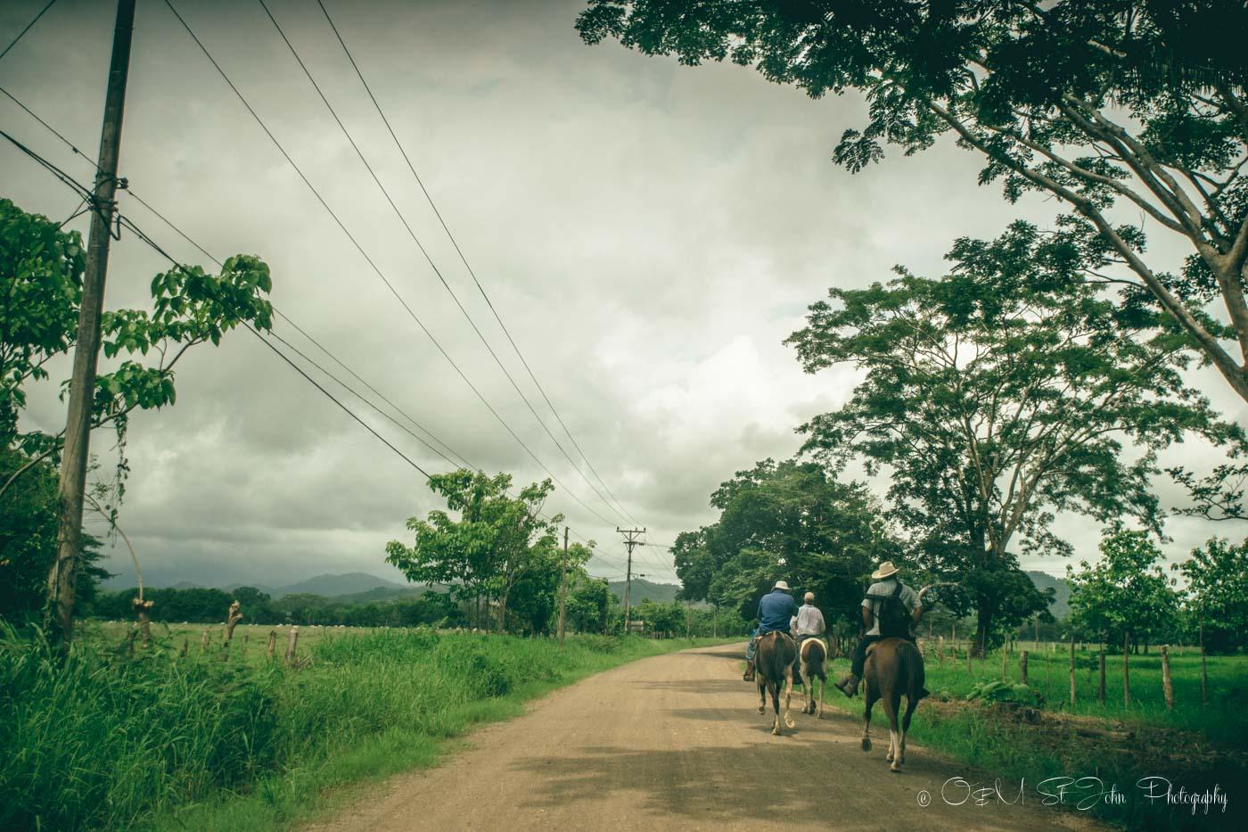 things to do in santa teresa costa rica: Road to Mal Pais, Nicoya Peninsula. Costa Rica