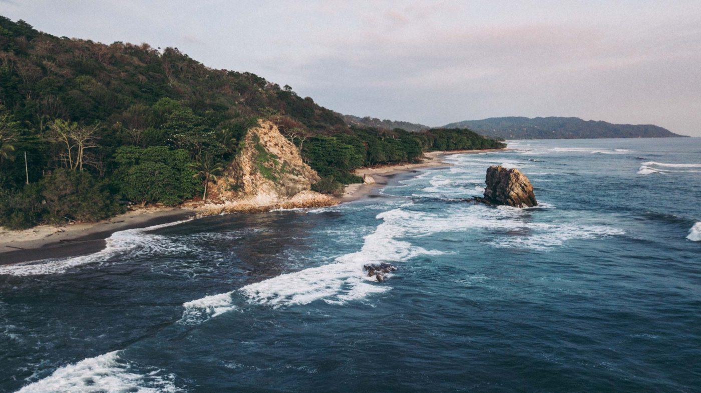 things to do in santa teresa costa rica: coastline
