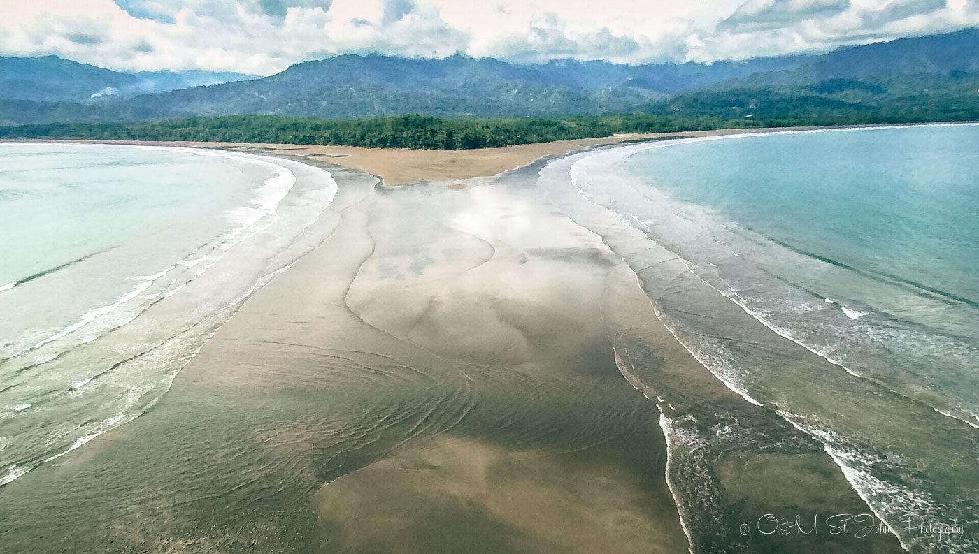 Things to do in Punta Uvita, Marina Ballena National Park, view from Playa Uvita, Puntarenas