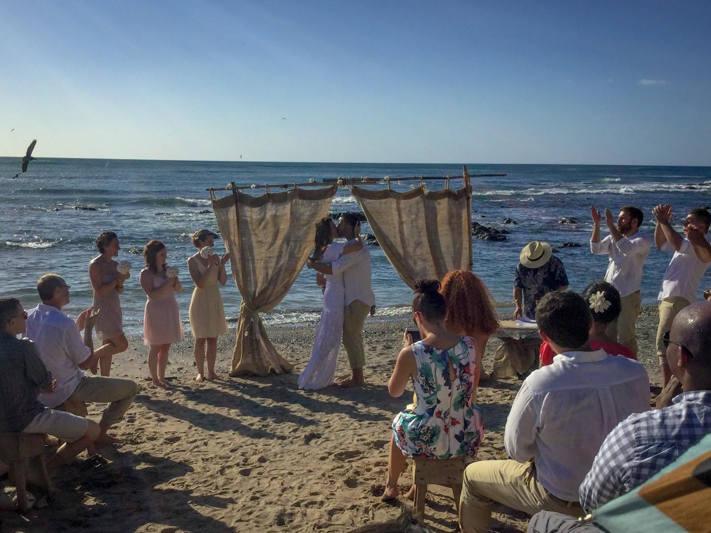 Max and Oksana wedding. Costa Rica