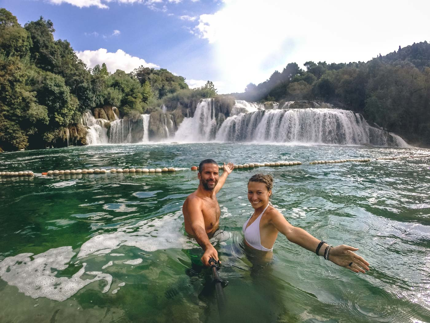 Exploring Krka National Park in Croatia!