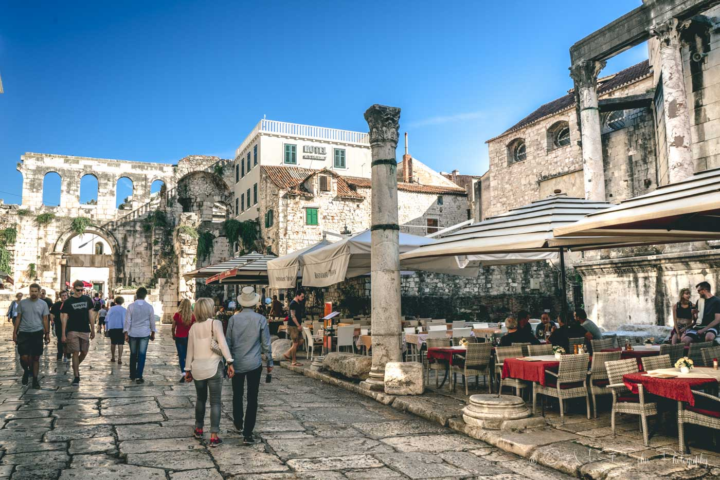 Walled city of Split, Dalmatia