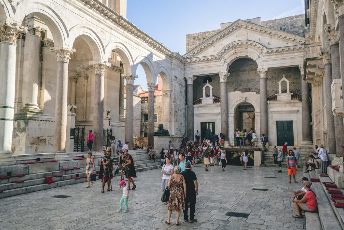 Diocletian's Palace, Split, Dalmatian Coast