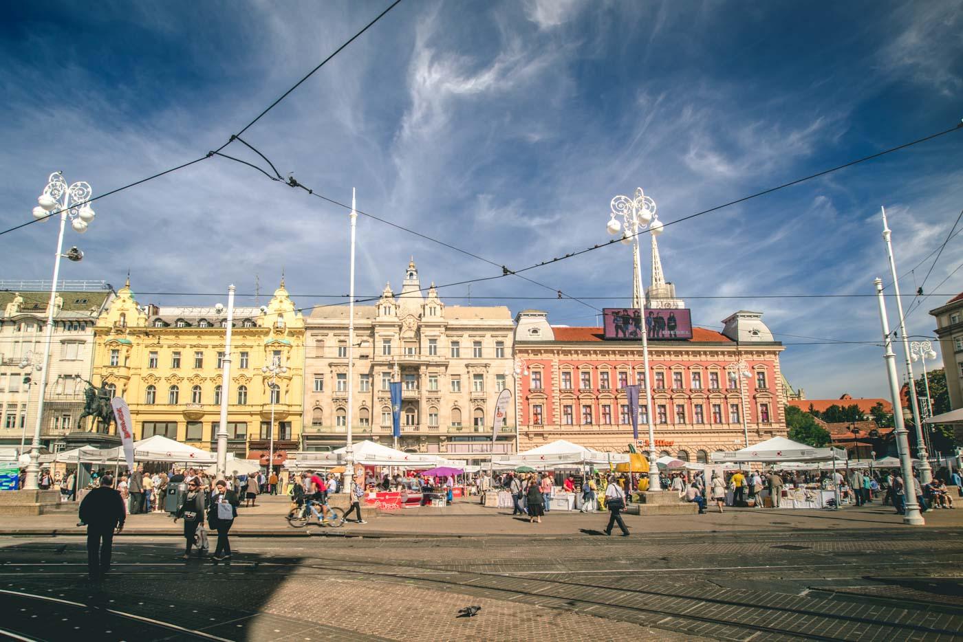Jelačića Square, Zagreb