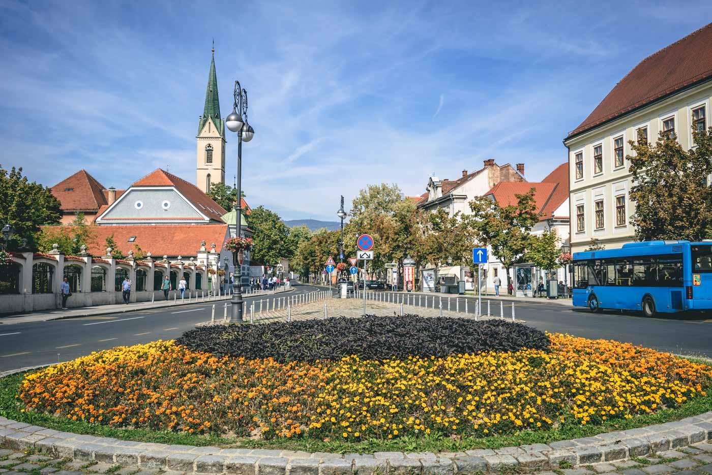 Upper Town, Zagreb, Central Croatia