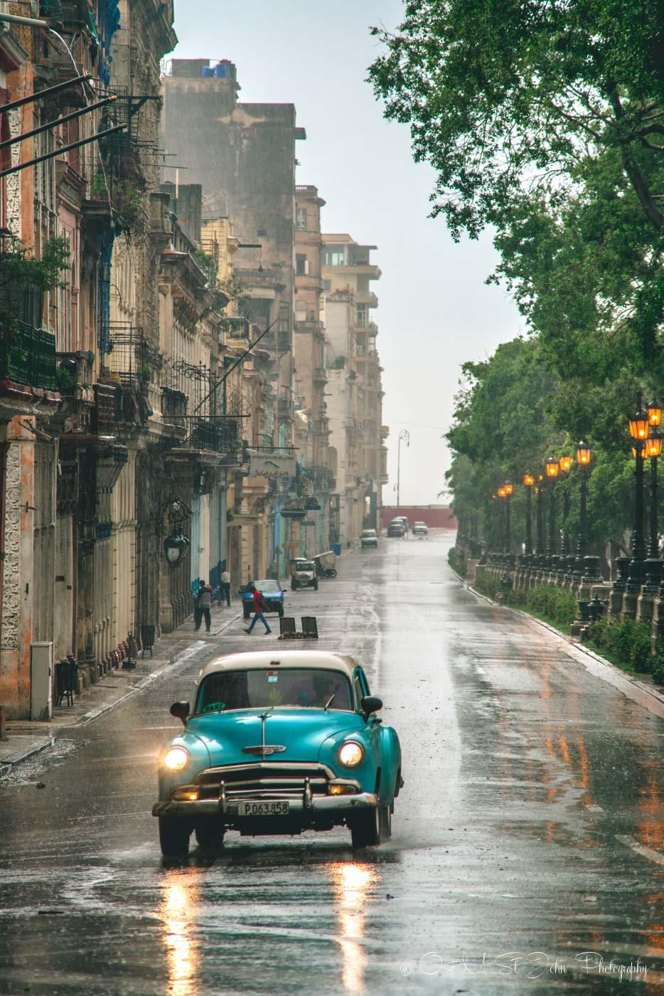 Cuba Itinerary: Classic Cars in Havana