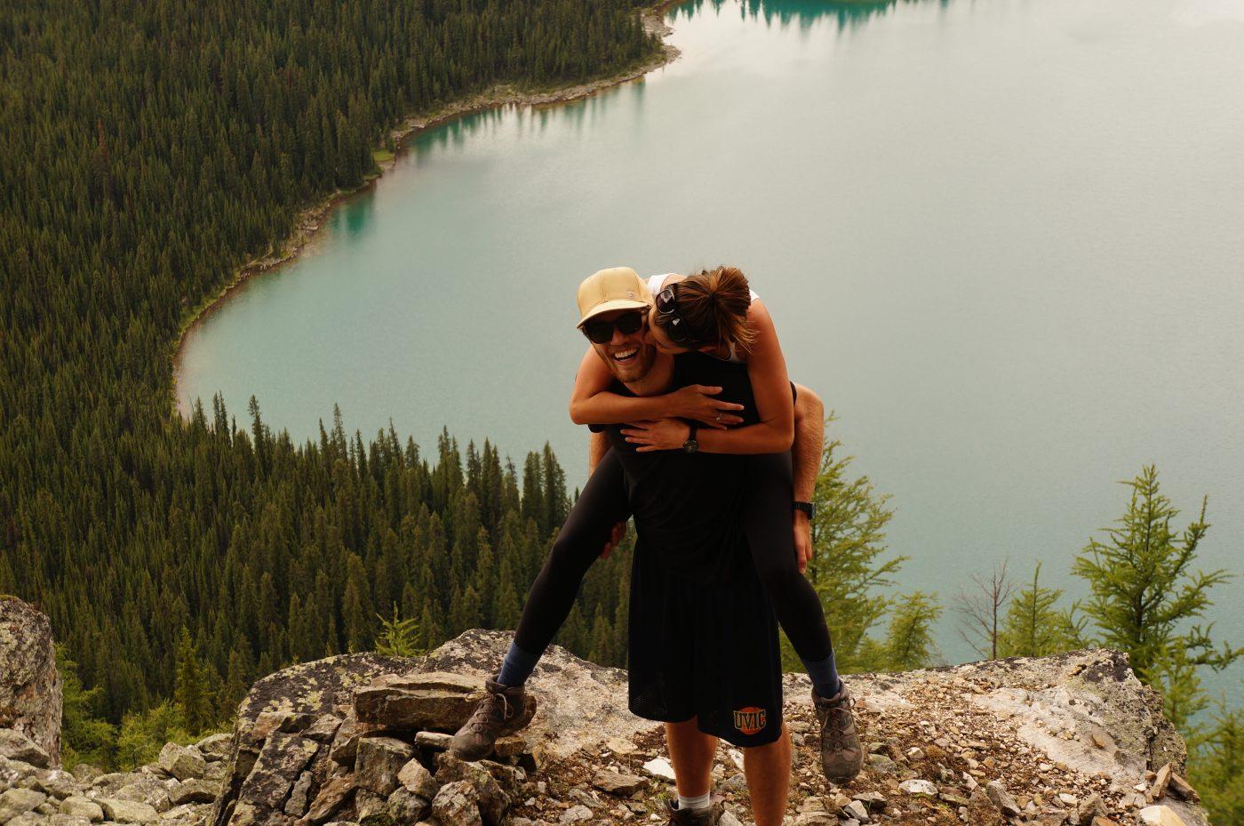 Saving Money for Travel: Couple having fun
