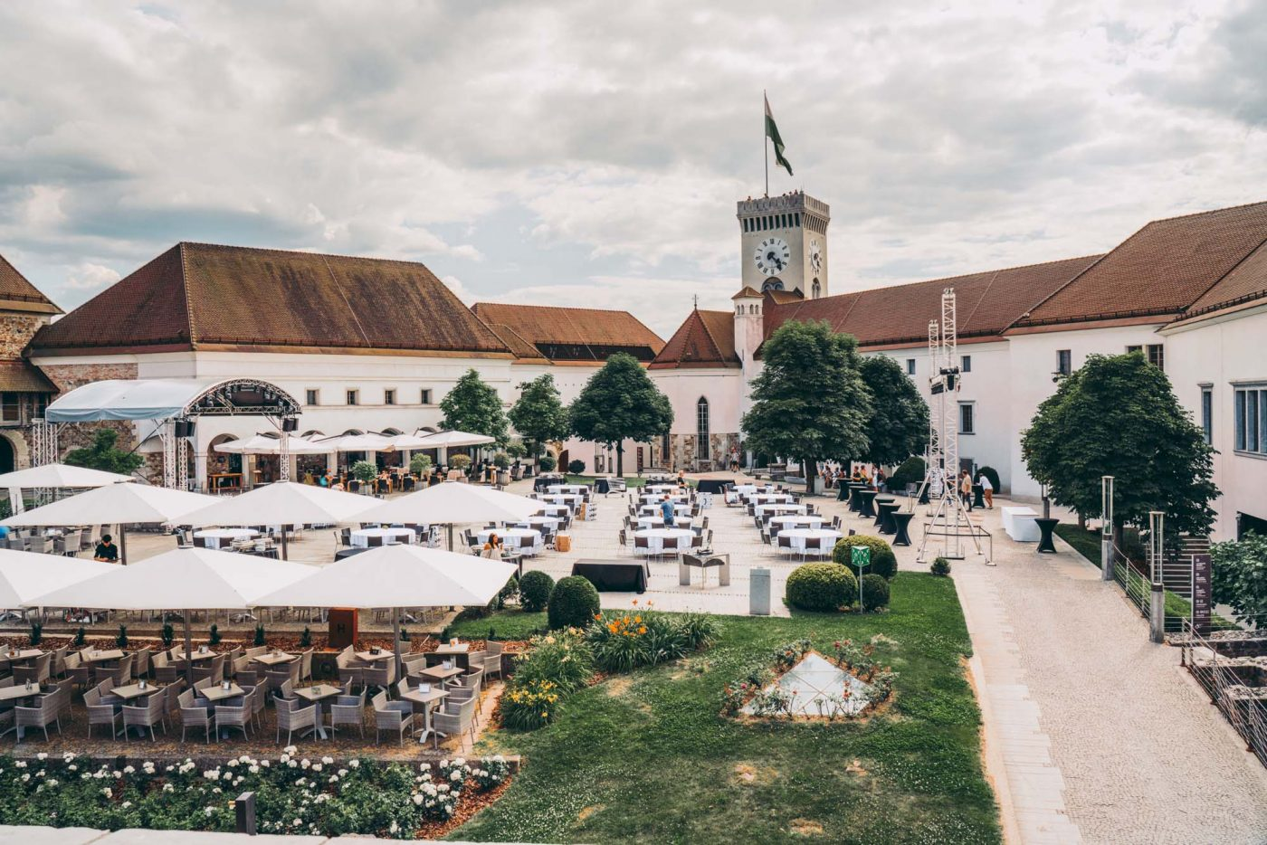 things to do in slovenia on holiday: Ljubljana Castle