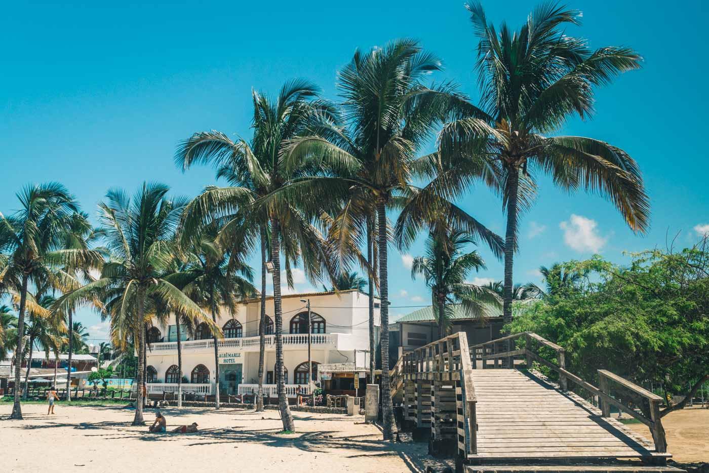Albemarle Hotel on Isabela Island