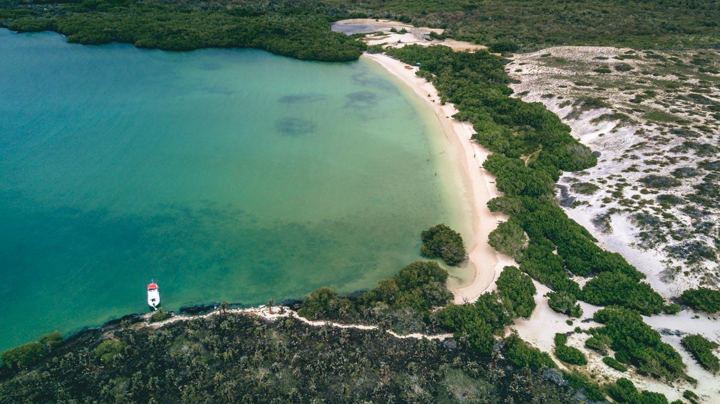 Tortuga Bay, Santa Cruz Island