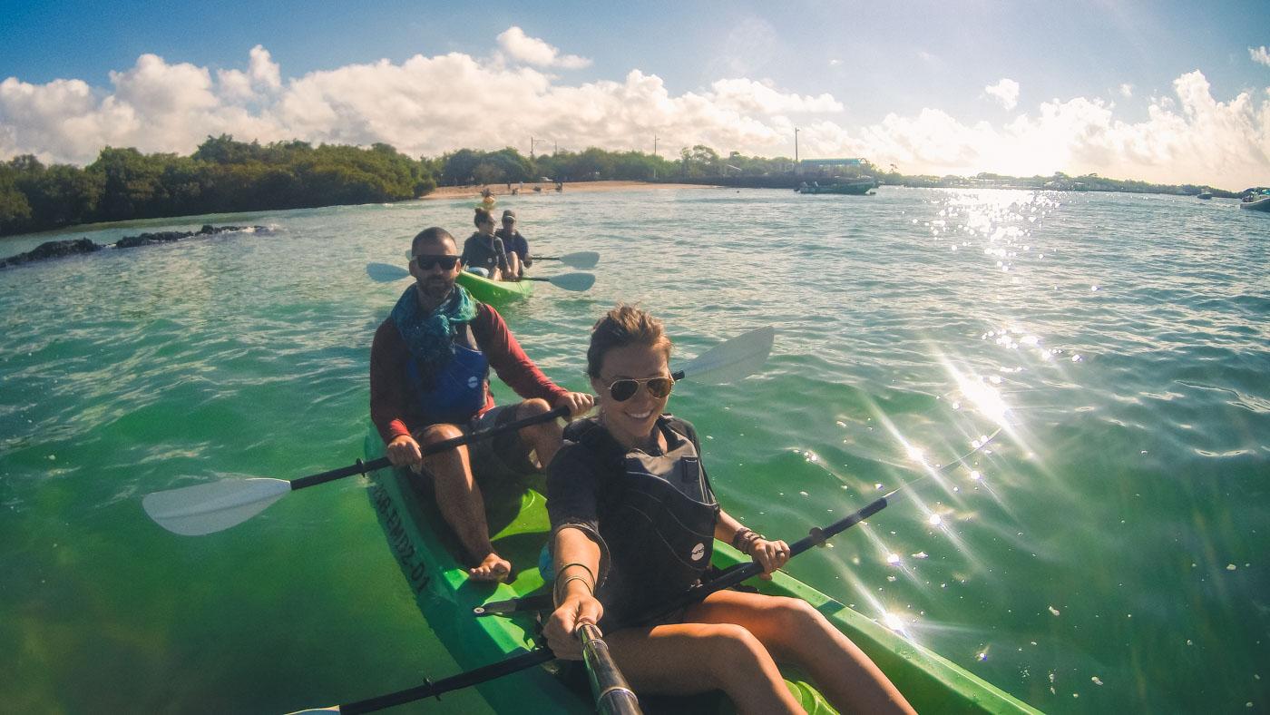 Ecuador Galapagos Santa Cruz kayaking