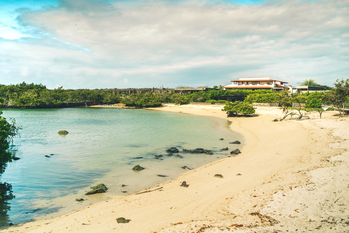 Playa a Los Alemanes, Santa Cruz island