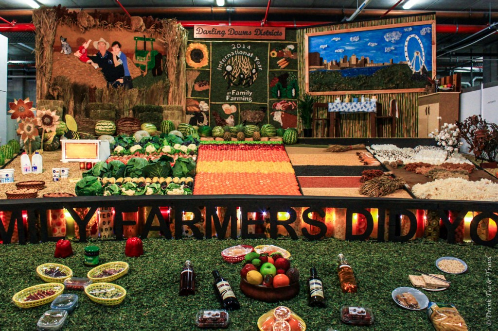 Farmers Display at the Royal Queensland Show