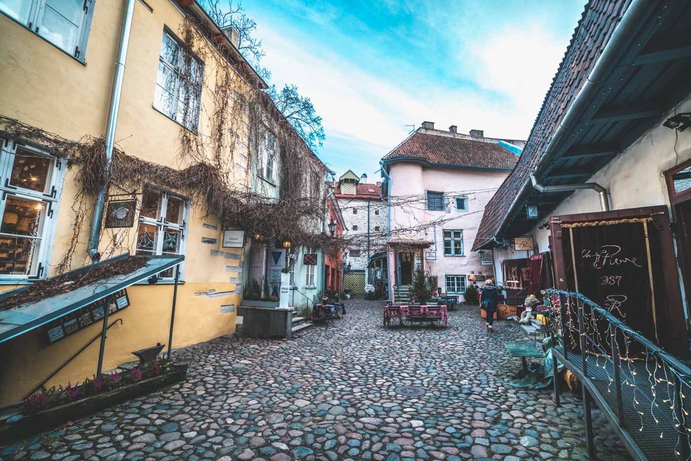 Things to do in Tallinn: Master's Courtyard, Old Town Tallinn, Estonia