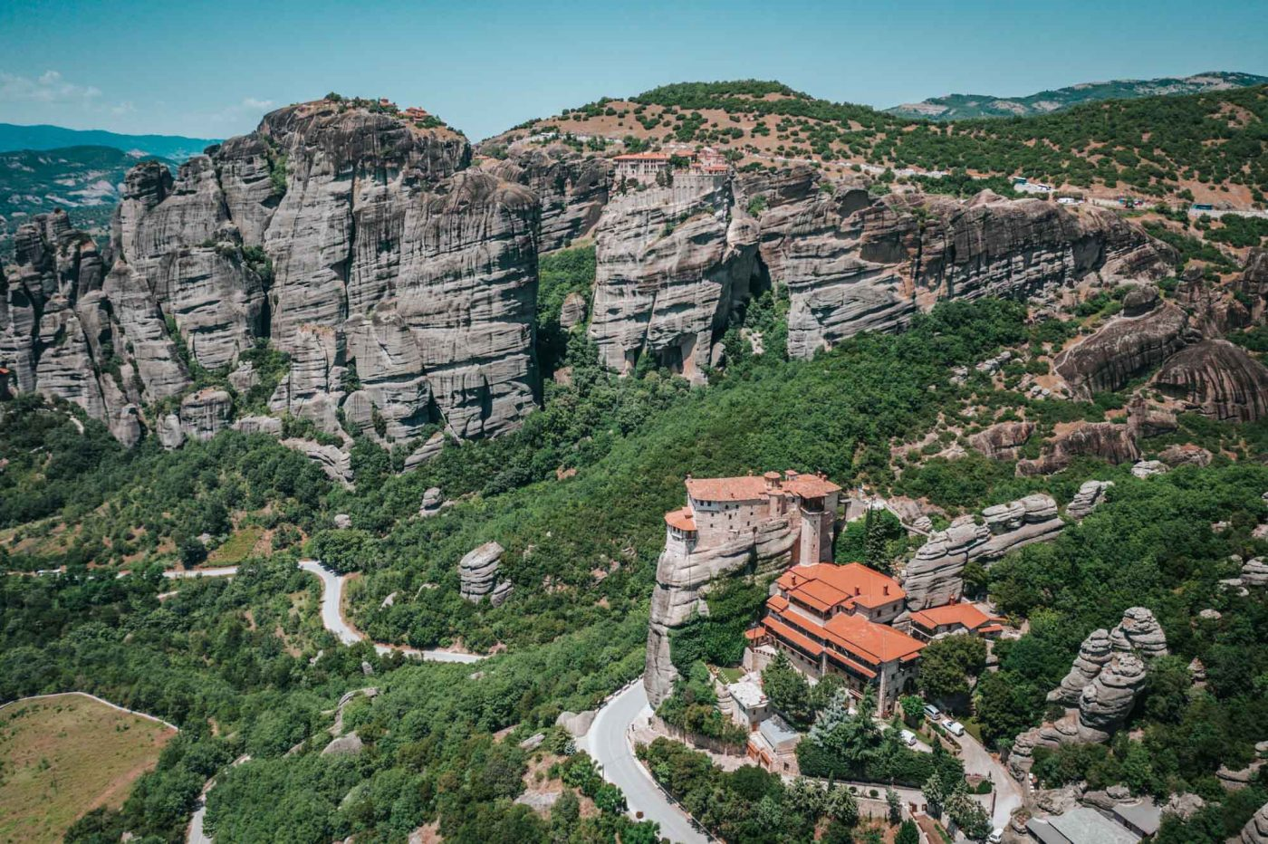 Monastery of Rousanou, Meteora, Greece