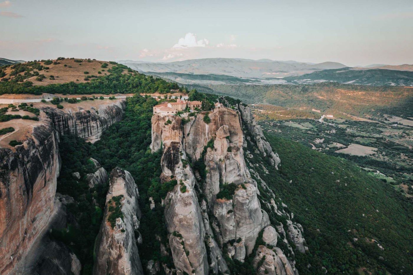 Monastery of St Stephen, Meteora, Greece