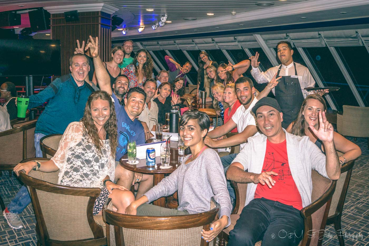 Our Fathom family on board the Adonia. Dominican Republic