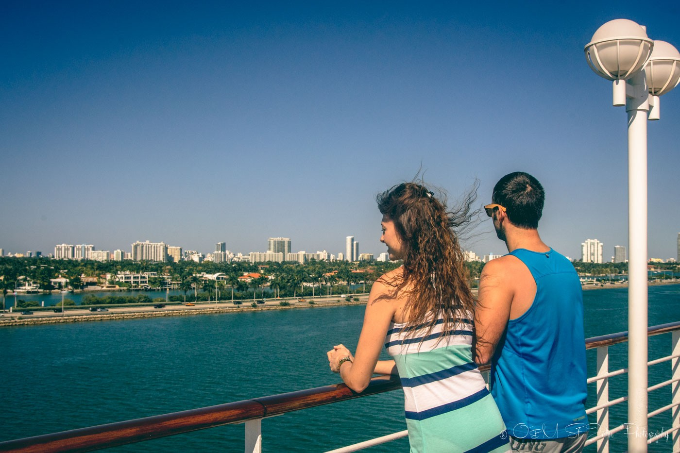 En route to the Dominican Republic with Fathom Travel