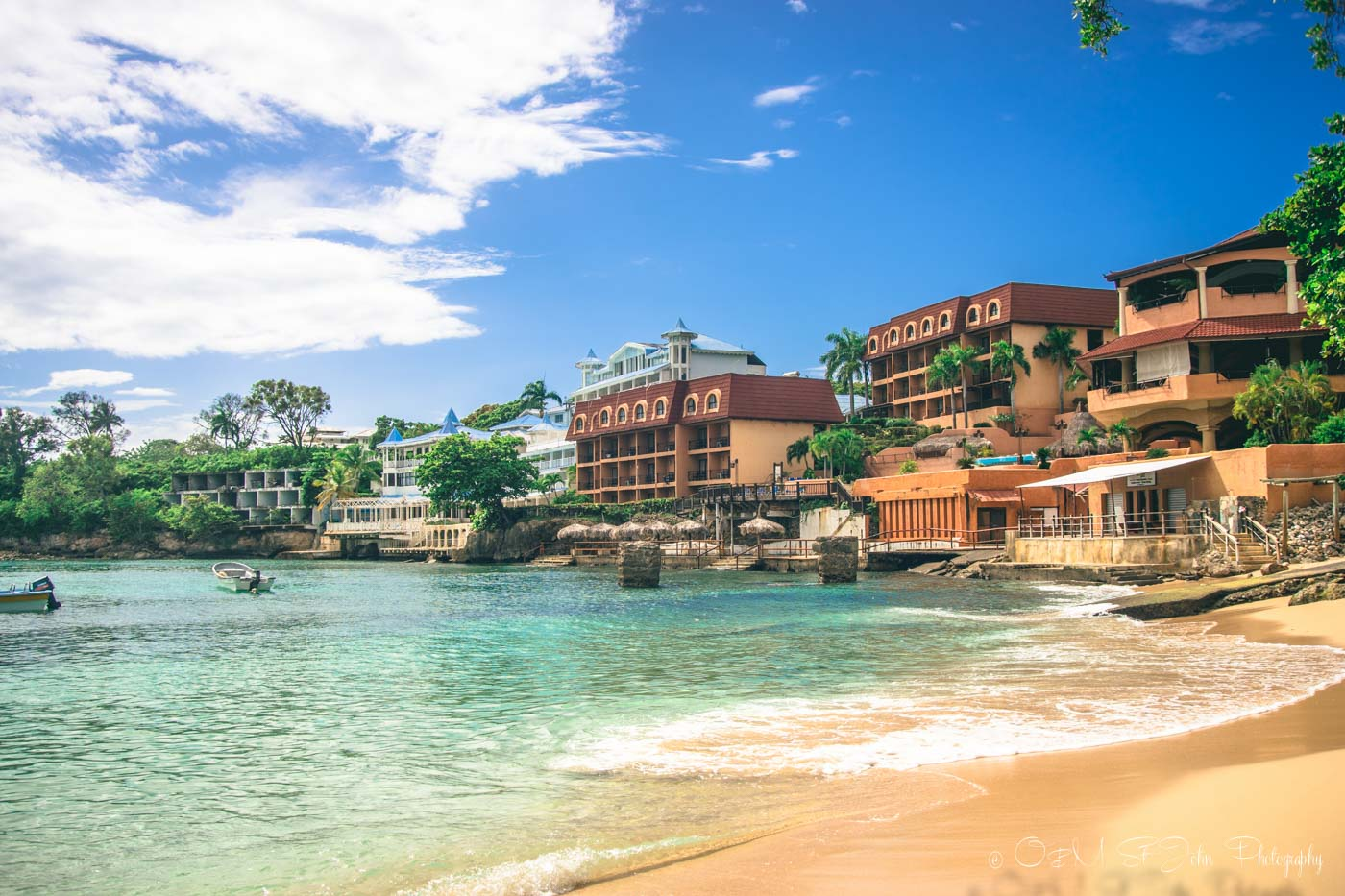 Sosua, a small beach town an hour away from Puerto Plata. Dominican Republic