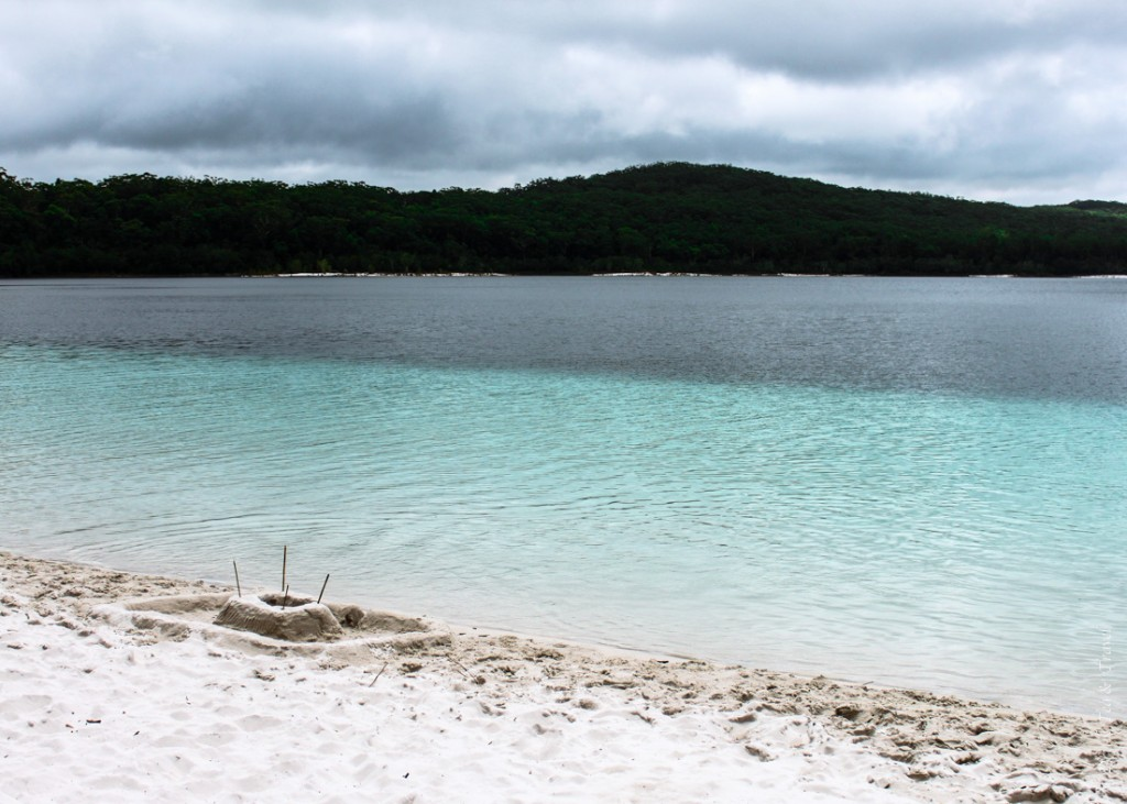 Camping on Fraser Island: Lake Mackenzie, Fraser Island, Australia