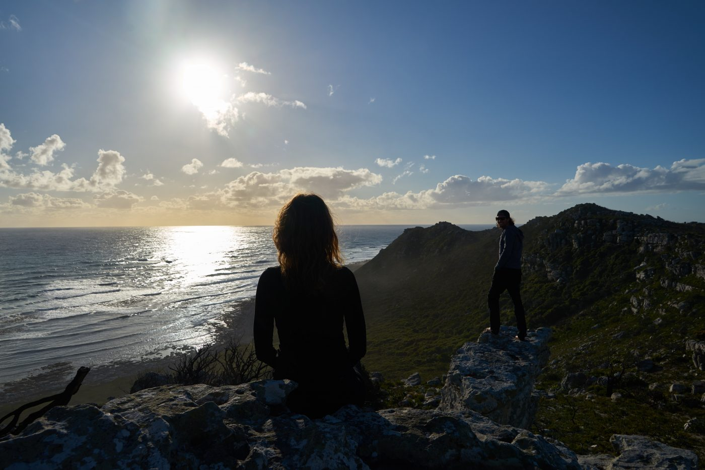 places to watch the sunset: Golden Hour At The Western Cape