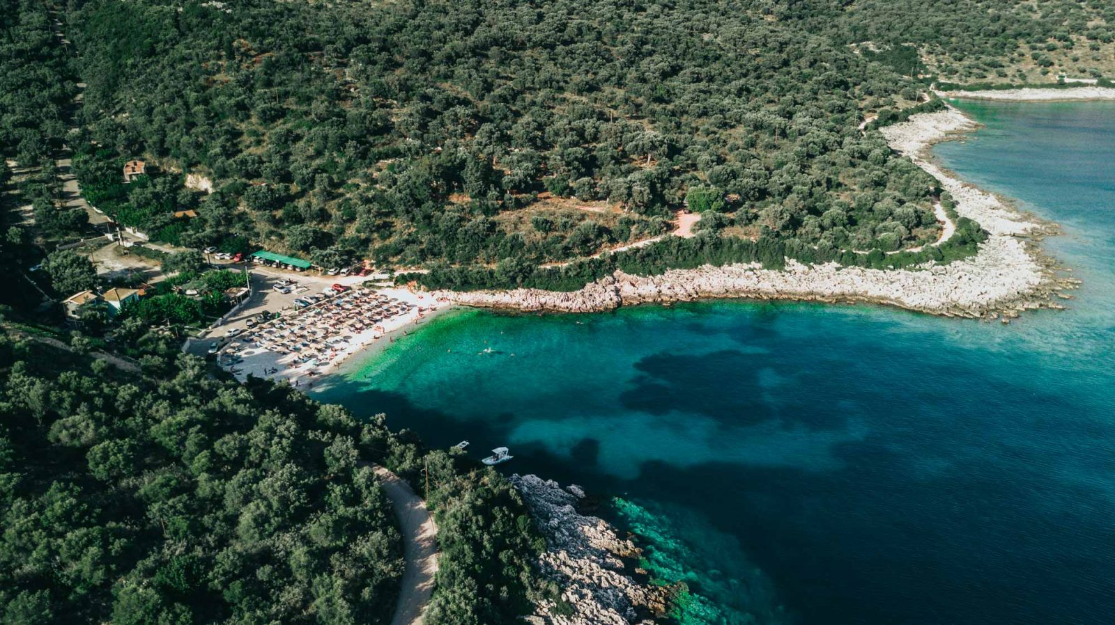 Ammousa is one of the best beaches in Lefkada