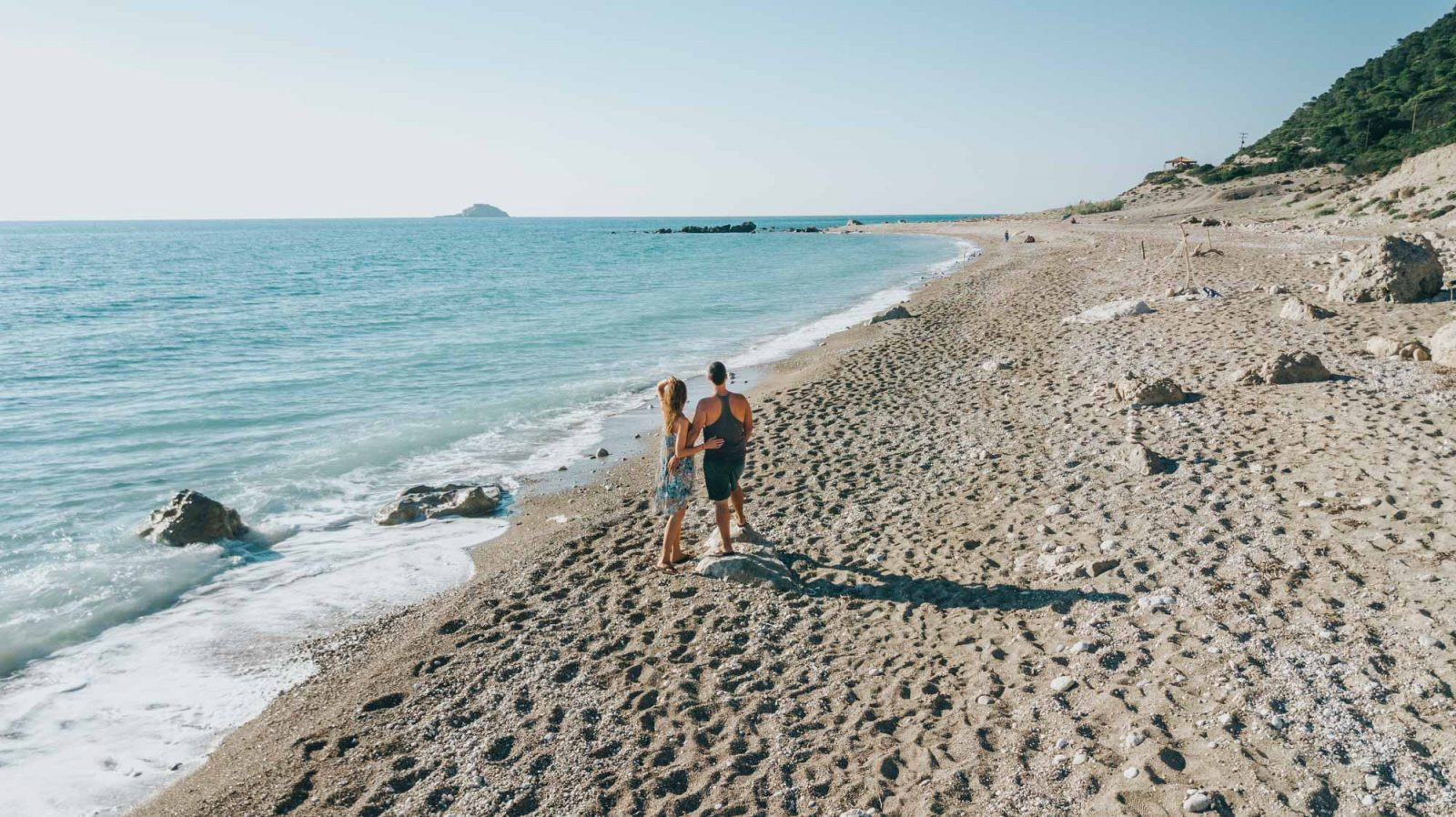 Gialos Beach is one of the best beaches in Lefkada
