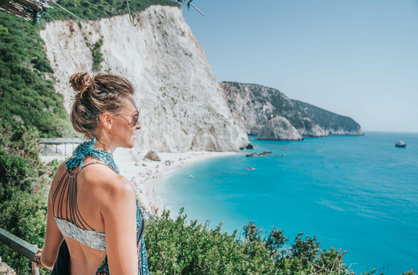Porto Katsiki is one of the Best beaches in Lefkada