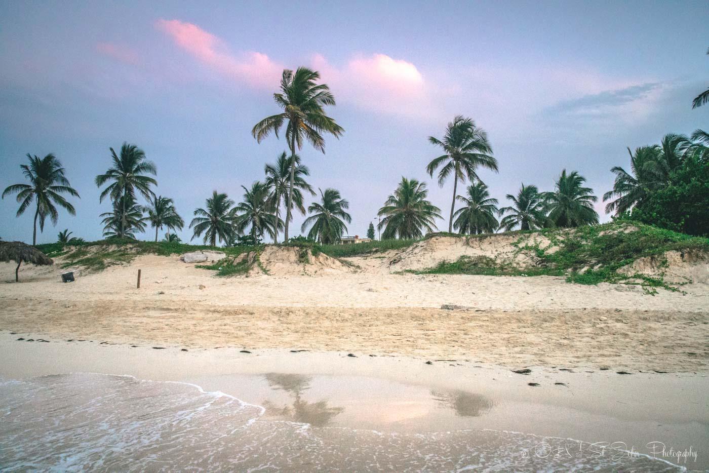 Playa Santa Maria, East Havana. Cuba