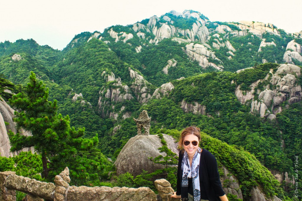 I'm exhausted after 2 days of hiking in Huangshan