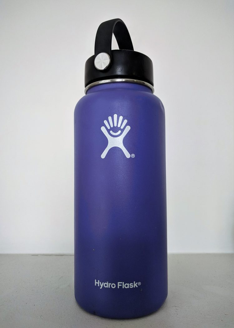 best way to drink water: hydroflask