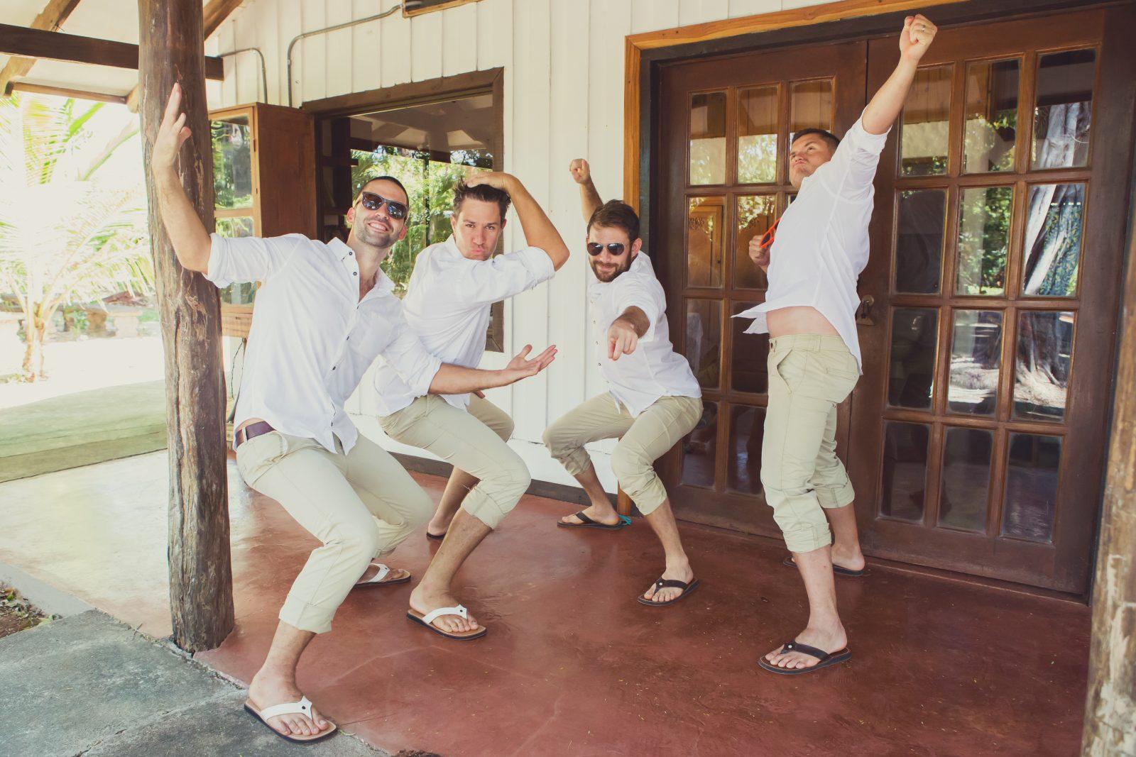 Boys ready for the wedding. Costa Rica