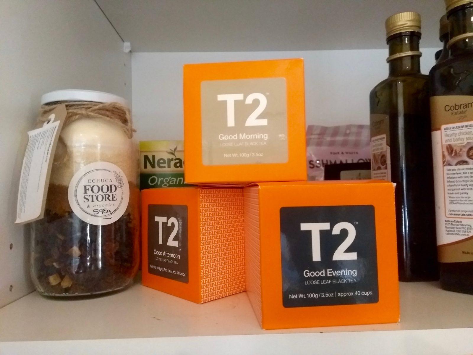 Food to try in Australia: T2 Tea, Australia's most popular tea brand