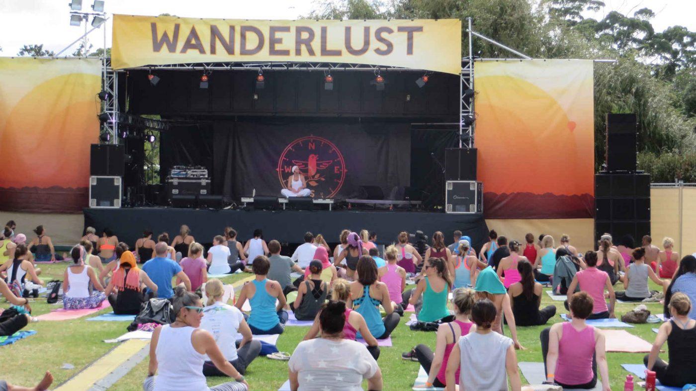 Wanderlust Festival a meditation retreat California, USA