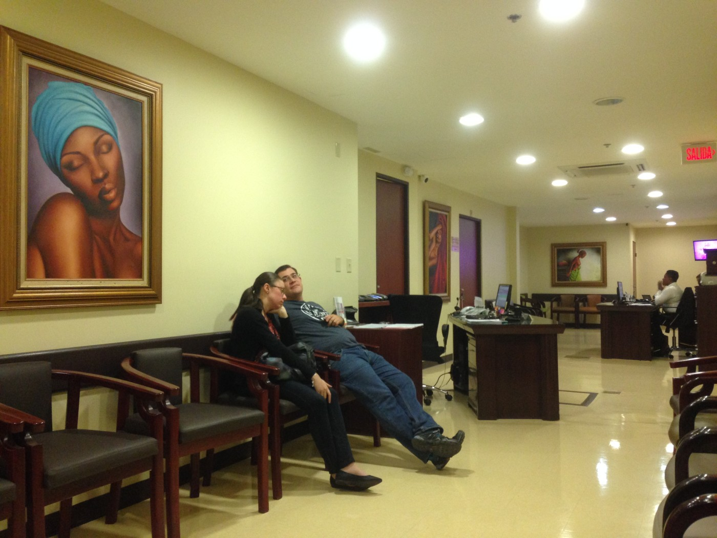 Inside Hospital La Catolica, one of the best private hospitals in Costa Rica, cost of living in Costa Rica