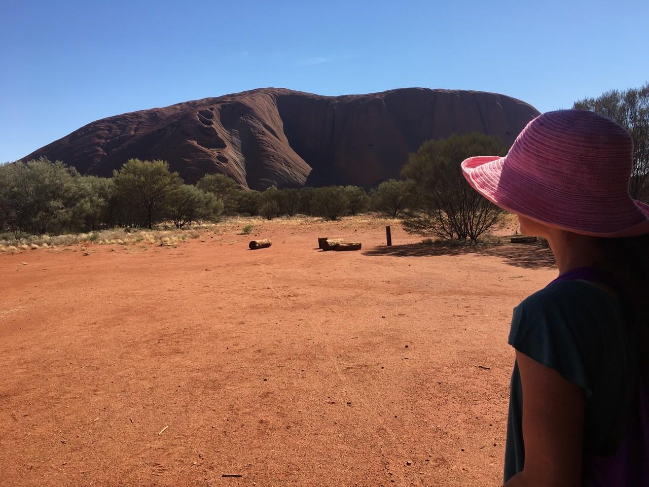 Uluru - Kata Tjuta National Park. Contributed by Emma from Small Footprint, Big Adventures