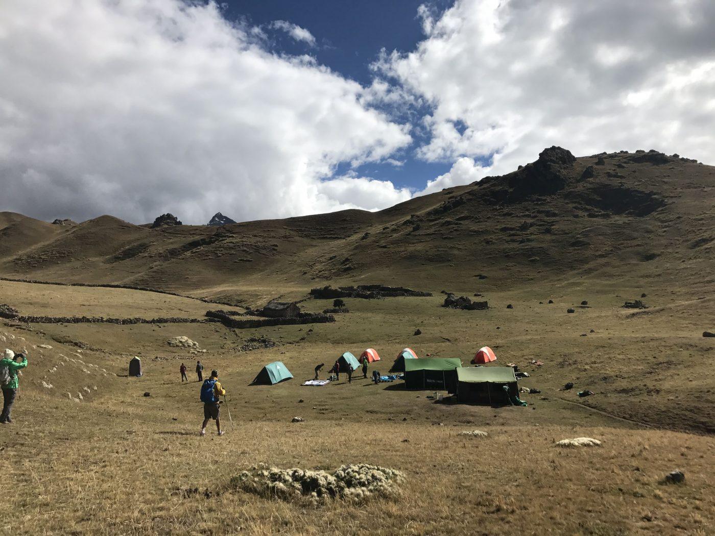 Moonstone Trail: Campsite