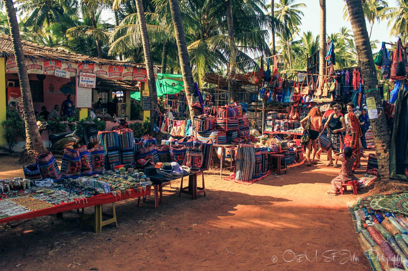 Anjuna Wednesday Market, Goa, India