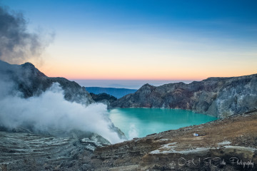 A Hike to the Heart of the Ijen Crater: Chasing the Blue Flame