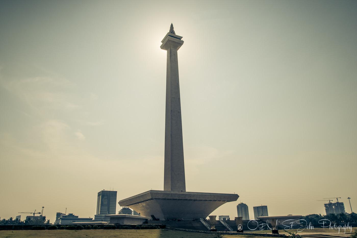 National Monument, Jakarta. Java. Indonesia