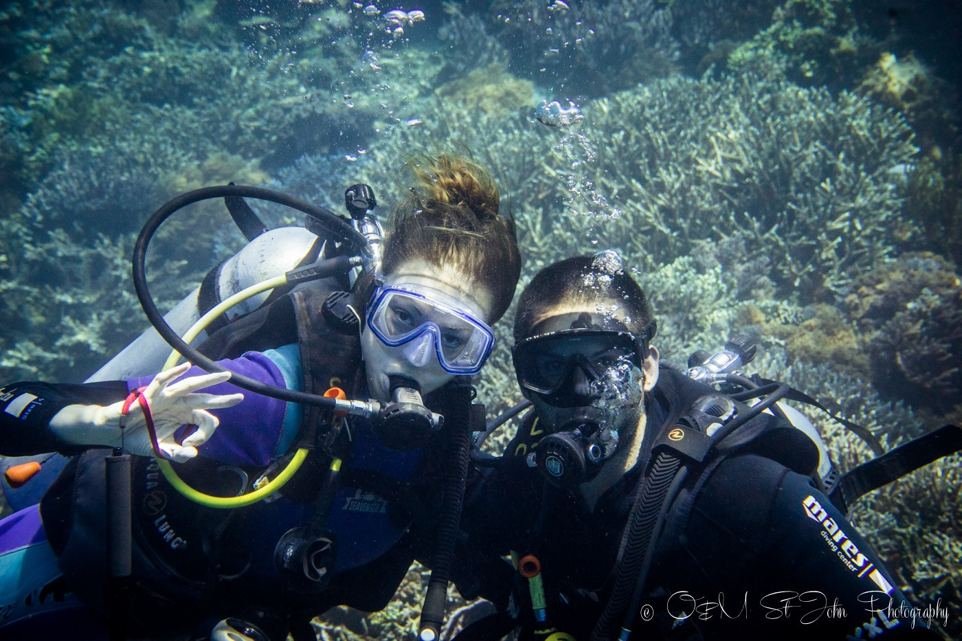 Our last dive on the liveaboard in Komodo National Park
