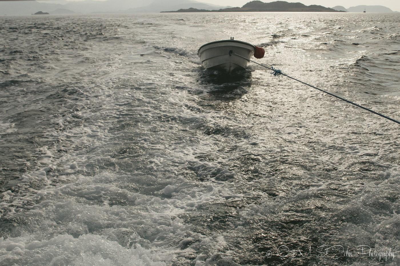 Uber Scuba Speed Boat. Diving in Komodo