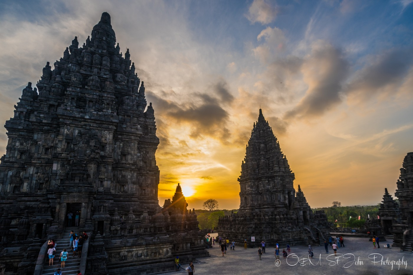 Top places to visit in Yogyakarta are Prambanan Temples