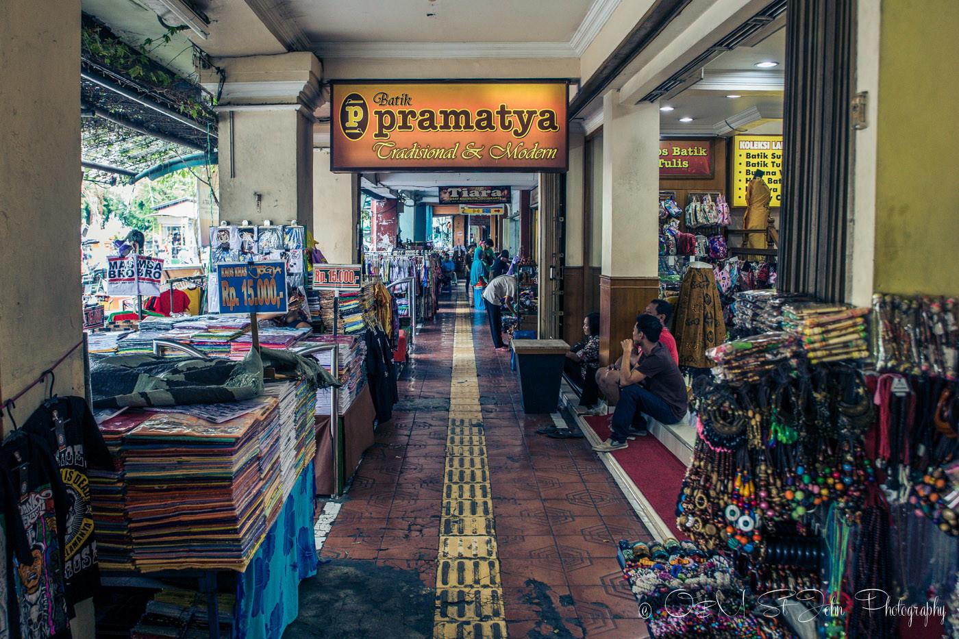 places to visit in yogyakarta: Shops on Jalan Malioboro