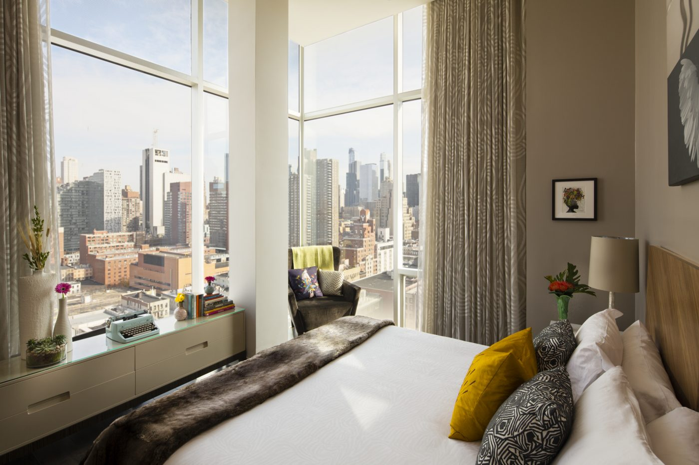Eco-Friendly Hotels New York City: A room with a view at Ink 48