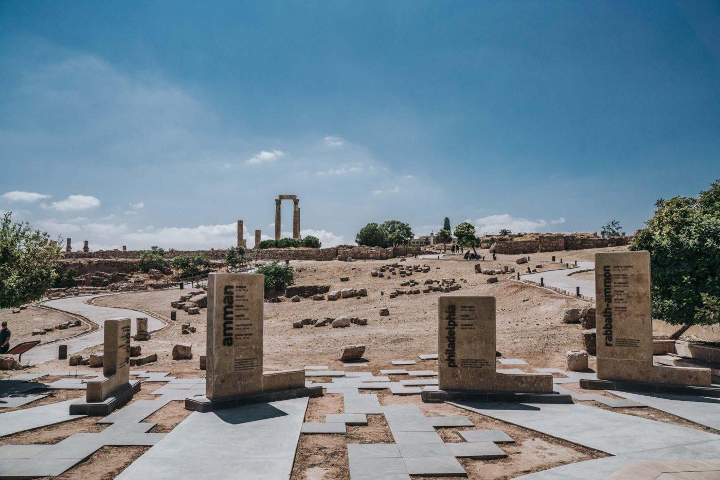 Things to do in Jordan: Archaeological site of the Citadel, Amman, Jordan