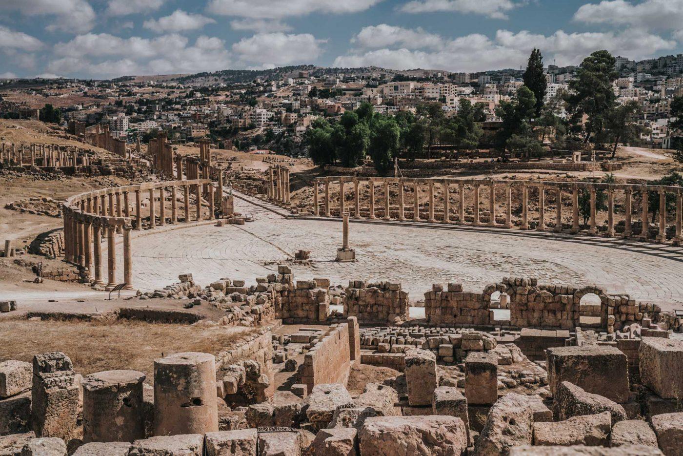 Things to do in Jordan: Hippodromein the ancient city of Jerash, Jordan