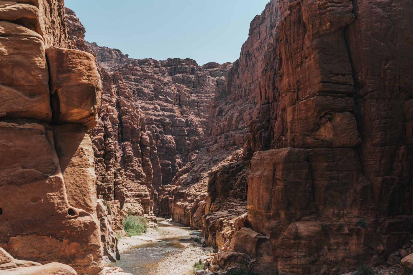 Ecotourism in Wadi Mujib Jordan is on the rise