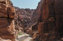 Ecotourism in Wadi Mujib Jordan is on the rise